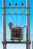 Elektryczny transformator Zdjęcie Royalty Free