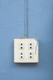elektryczny ujście Fotografia Royalty Free
