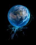 Elektryczny świat Obraz Stock