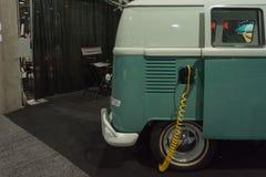 Elektryczny wolkswagena rocznika klasyk Obraz Royalty Free