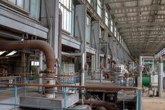 elektryczny zamknięta elektryczna elektrownia zdjęcie royalty free