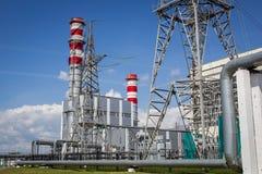elektryczny zamknięta elektryczna elektrownia Zdjęcie Stock