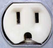 elektryczny zbliżenia ekstremalne ujścia Zdjęcie Stock