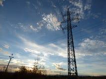 elektryfikacja Zdjęcie Royalty Free