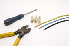 Elektryków narzędzi grupa Zdjęcie Stock