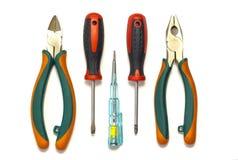 Elektryków narzędzia Zdjęcia Stock