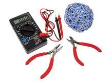 Elektryków narzędzia Zdjęcie Stock