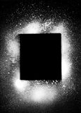 Elem del diseño de la salpicadura de la poder de aerosol Fotos de archivo
