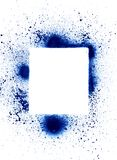 Elem do projeto do splatter da lata de pulverizador Imagem de Stock Royalty Free