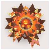 Elememt de conception de Veille de la toussaint Image libre de droits