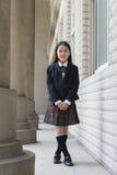 elementär schoolgirl Royaltyfria Foton