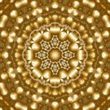 8 elementów barwili mitycznego kalejdoskop Ilustracji