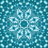 8 elementów barwili mitycznego kalejdoskop Zdjęcia Stock
