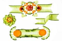 elementów dekoracyjni warzywa Obraz Royalty Free