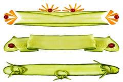 elementów dekoracyjni warzywa Fotografia Stock
