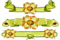 elementów dekoracyjni warzywa Zdjęcia Royalty Free