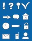 elementów grafiki set Zdjęcie Royalty Free