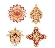 elementów orientalny rosace wektor Fotografia Royalty Free