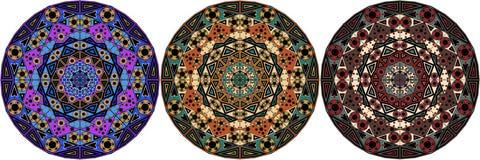 elementów ornamental set royalty ilustracja