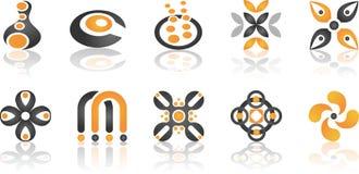 Element 2 van het ontwerp Stock Afbeelding