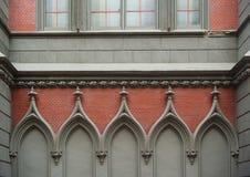 Element of architectural decoration Catholic Church Stock Photo