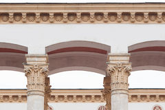 Element of the architecture, sculpture on the column Royalty Free Stock Photo