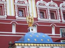 Element av arkitektur moscow röd fyrkant royaltyfria bilder