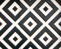 Element of black and white squares Stock Image