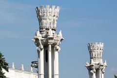 Element budynek przeciw Obraz Royalty Free