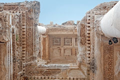 The element of Celsus Library, Turkey 2 Royalty Free Stock Photos