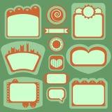 element dekoracyjne ramy Ilustracja Wektor