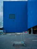 Element der abstrakten Kunst des Architekturkaufhauses und -straße Stockfotos