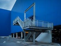 Element der abstrakten Kunst des Architekturkaufhauses und -straße Lizenzfreie Stockbilder