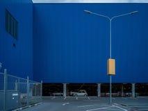 Element der abstrakten Kunst des Architekturkaufhauses und -straße Stockfotografie