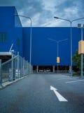 Element der abstrakten Kunst des Architekturkaufhauses und -straße Lizenzfreie Stockfotografie