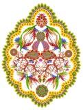 Element der persischen Wolldecke Zitrone lizenzfreies stockfoto