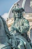 Element des alten Erinnerungsmonuments der Kaiserin Maria Theresa in Wien, Österreich lizenzfreies stockbild