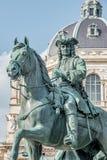Element des alten Erinnerungsmonuments der Kaiserin Maria Theresa in Wien, Österreich stockfoto
