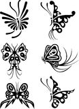 Element for design, butterfly, vector Stock Image