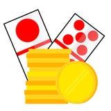 Element Design for Gamble on white. Vector Element Design for Gamble on white vector illustration