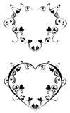 Element for design - heart. Vestor abstract heart for design Stock Image