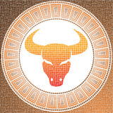 Element earth: taurus Stock Images