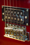 Element of electric guitar Royalty Free Stock Photos