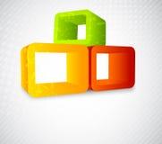 element för bakgrund 3d royaltyfri illustrationer