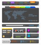 Element för rengöringsdukdesign. royaltyfri illustrationer