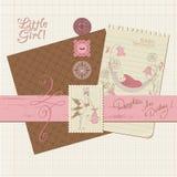 Element för Scrapbooktappningdesign royaltyfri illustrationer