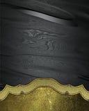 Element für Design auf schwarzem Hintergrund Schablone für Entwurf kopieren Sie Raum für Anzeigenbroschüre oder Mitteilungseinlad Stockbild