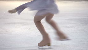 Element of Figure Skating stock footage