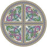 element för celtic design för fåglar detaljerat Arkivfoto