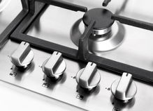 Element gas burner Royalty Free Stock Photography